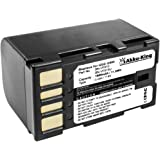 Akku-King batería compatible JVC GC-PX100, GC-PX10, GS-TD1, GR-D720, GR-D796, GZ-HD10 - BN-VF815, BN-VF815U, BN-VF915, BN-VF915U - Li-Ion 1600mAh