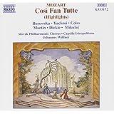 Mozart: Cosí Fan Tutte (Highlights) (Aufnahme Bratislava 1990)