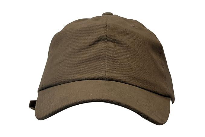 Amazon.com  KC Caps Unisex Cotton Baseball Cap Classic Adjustable ... e2926d4e89f