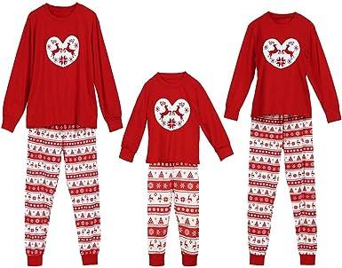 Pijamas Navidad Familia - Conjunto Unisex Pijama Bebe Navidad ...