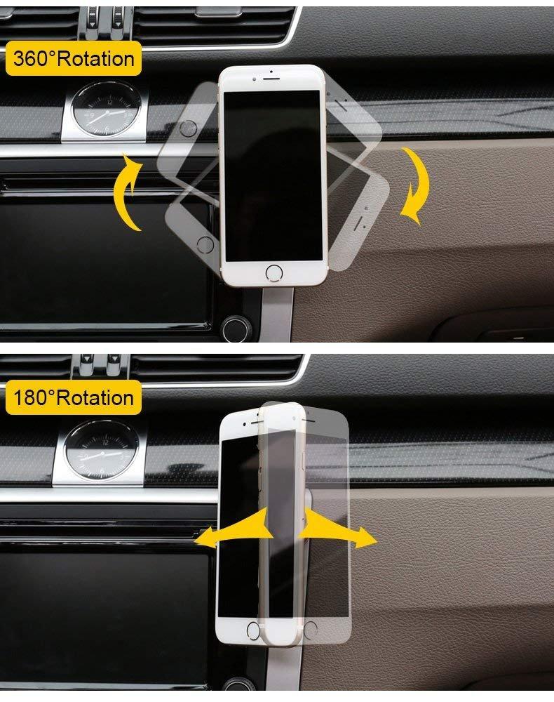 6S 6 Plus Galaxy S7 7 Plus SUPRBIRD Support T/él/éphone Voiture Magn/étique Se 6S Plus Support Voiture T/él/éphone Aimant/é Universel pour iPhone 7 Note 5 et dautres Smartphones 6