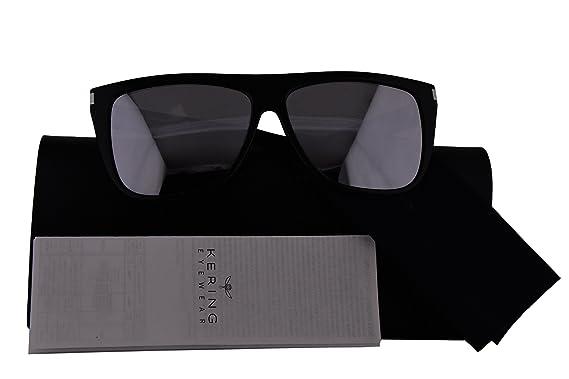 919ea24d77db Saint Laurent Authentic SL1 Sunglasses Black w/Silver Mirror Lens 008  (59mm) SL1: Amazon.co.uk: Clothing