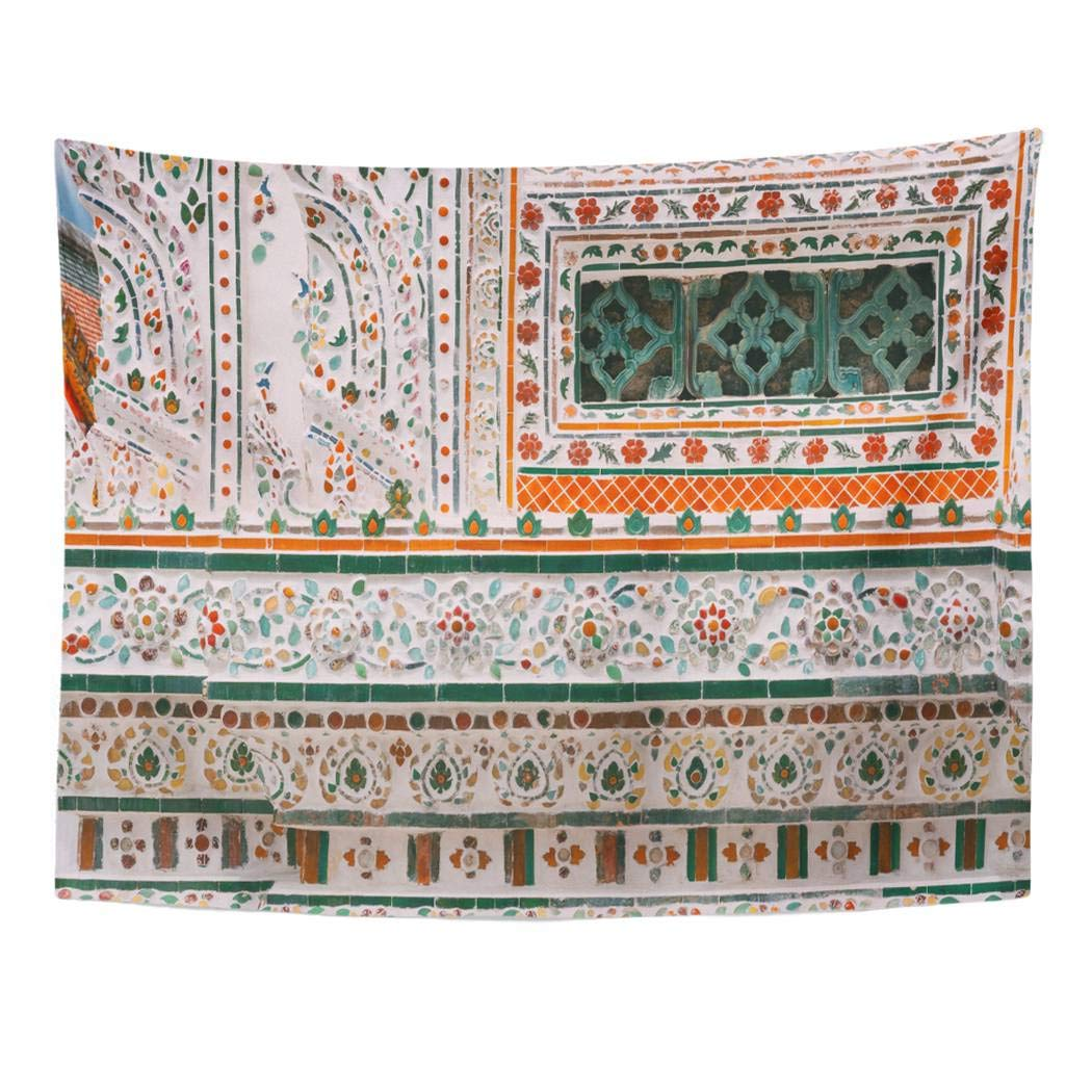 Amazon.com: Tarolo Decor Wall Tapestry Blue Oil Pastel ...
