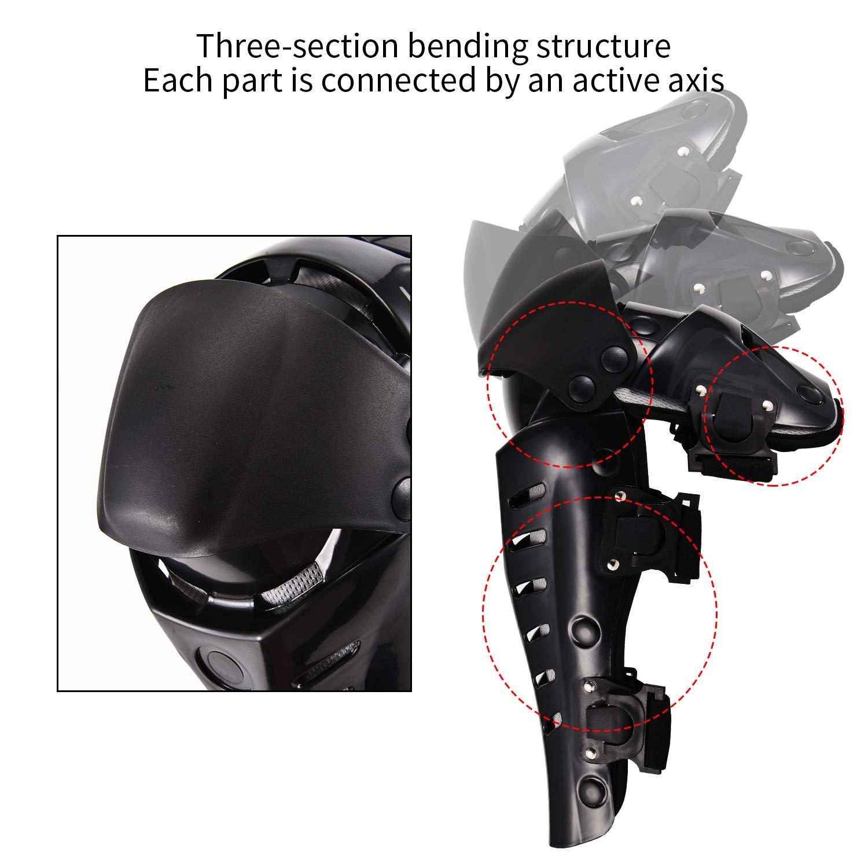 Knee Guards Motorcycle Knee Protective Motorcycle Motocross Knee Pads Crashproof Antisliip Protective Knee Guards for Motorcycle Motocross Bicycle Skate Skateboard