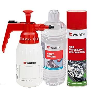 5798060ccbb76d Wurth Kette Gleitgel 500 ml + Wurth Pumpspender + Wurth ...