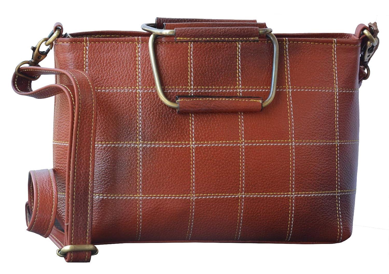 6cd20b6f82 GenWayne small multipurpose leather handbags for women cum shoulderbag (pure  leather bag) (Beige)  Amazon.in  Shoes   Handbags