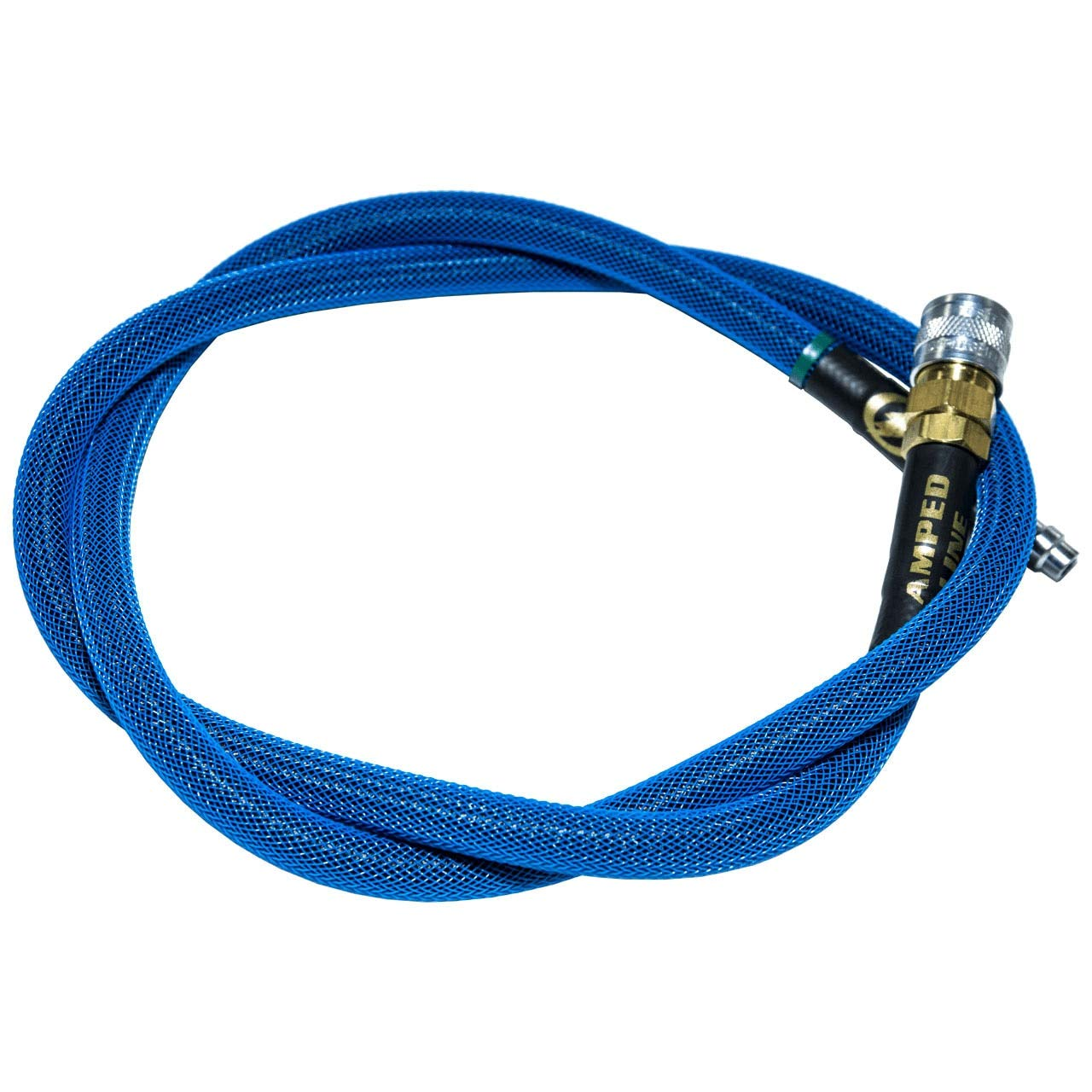 AMPED Airsoft Amped Line   Standard Weave for PolarStar, Wolverine, and Redline HPA Units 36 Inch (Recommended) Blue by AMPED Airsoft