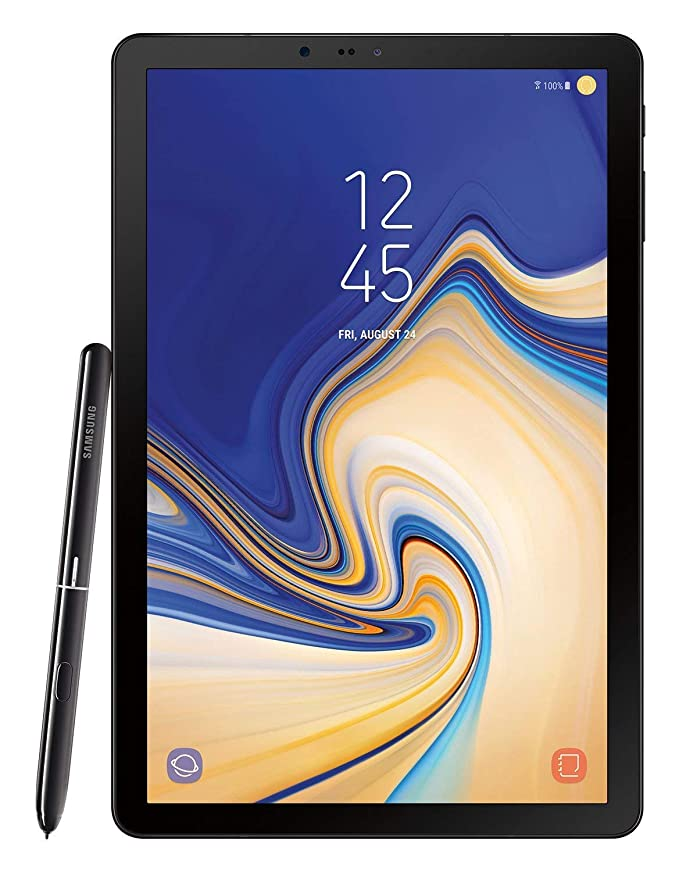 Amazon com : Samsung Electronics SM-T830NZKAXAR Galaxy Tab S4 with S