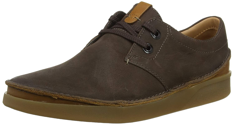 TALLA 41.5 EU. Clarks Oakland Lace, Zapatos de Cordones Derby para Hombre