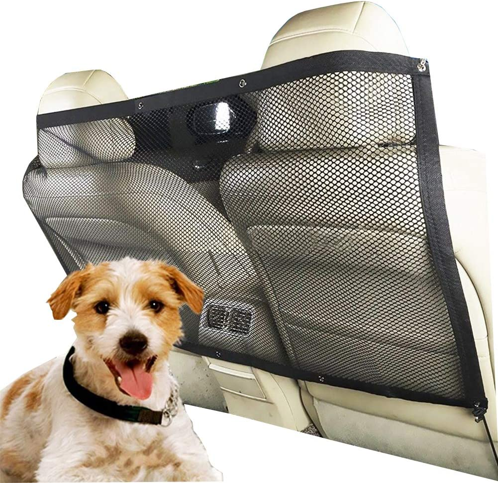 Kentop Rete di Sicurezza per Cani barriera per Auto