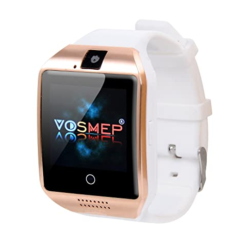 VOSMEP Reloj Inteligente Apro Smart Watch sorporte Facebook Whatsapp con Bluetooth 3.0 Built-in 8G Memoria ...