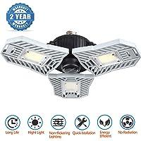 Falive Garage Lighting 6000LM LED Garage Lights