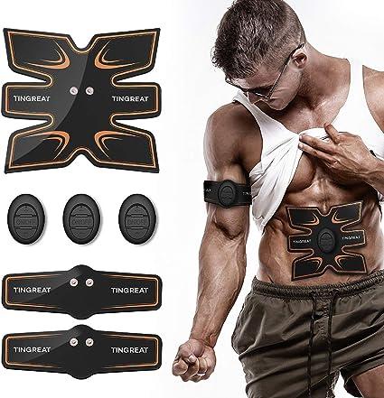 Portable Abs Stimulator Abdominal Muscle Trainer AB Toner Belt for Women Men Fit