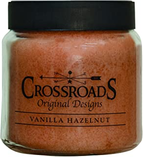 product image for Crossroads Vanilla Hazelnut Jar Candle, 16 oz