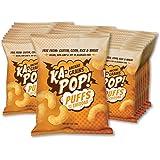 Ka-Pop! Ancient Grain Puffs, Dairy Free Cheddar (1oz, Pack of 24) - Allergen Friendly, Sorghum, Gluten-Free, Paleo Friendly,