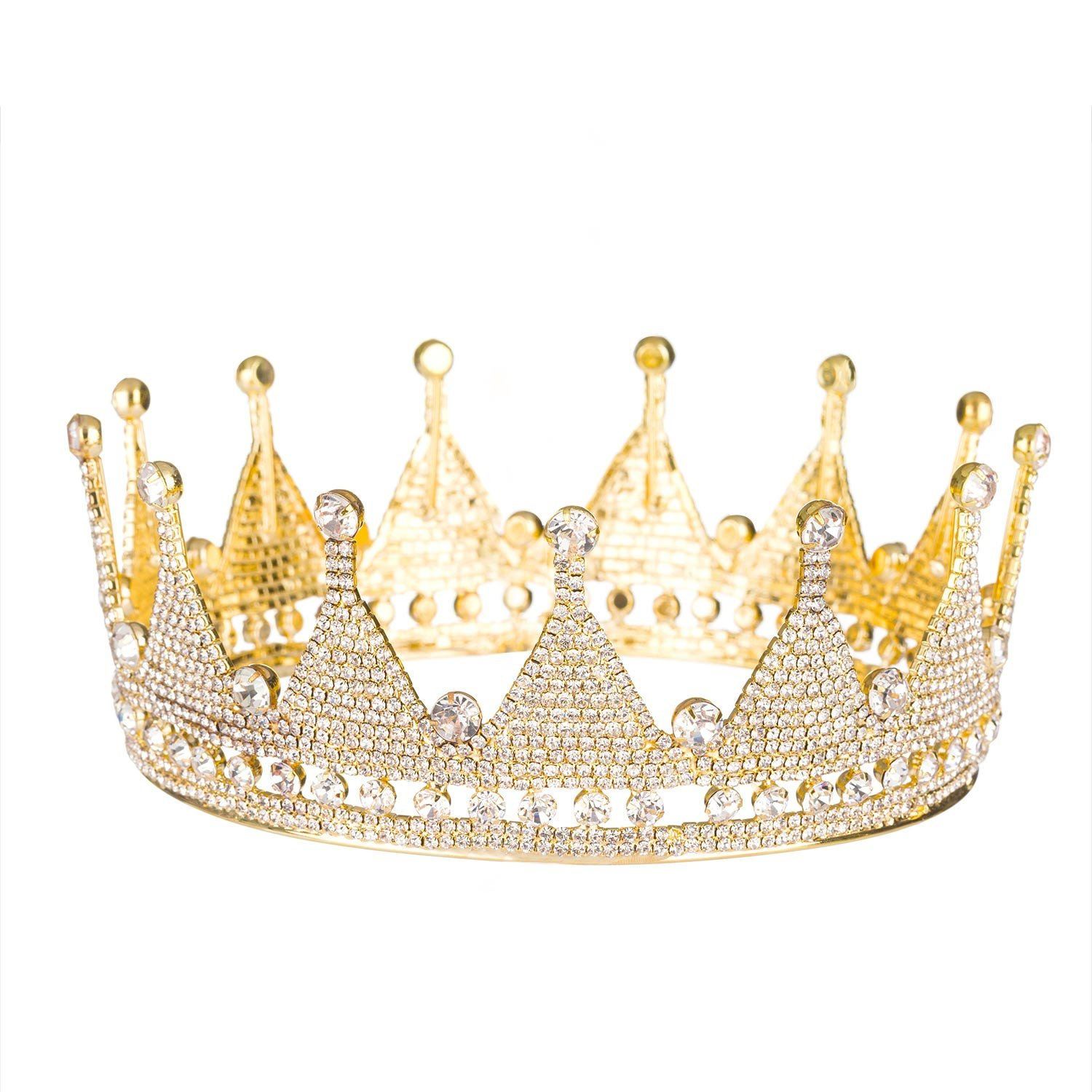 Royal King Crowns Tiaras High 2.36''
