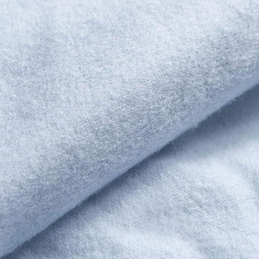 Bebé cepillado 100% de franela de algodón sábana de (para ...