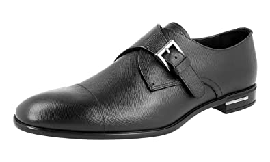 Men's 2OC016 053 F0002 Saffiano Leather Business Shoes