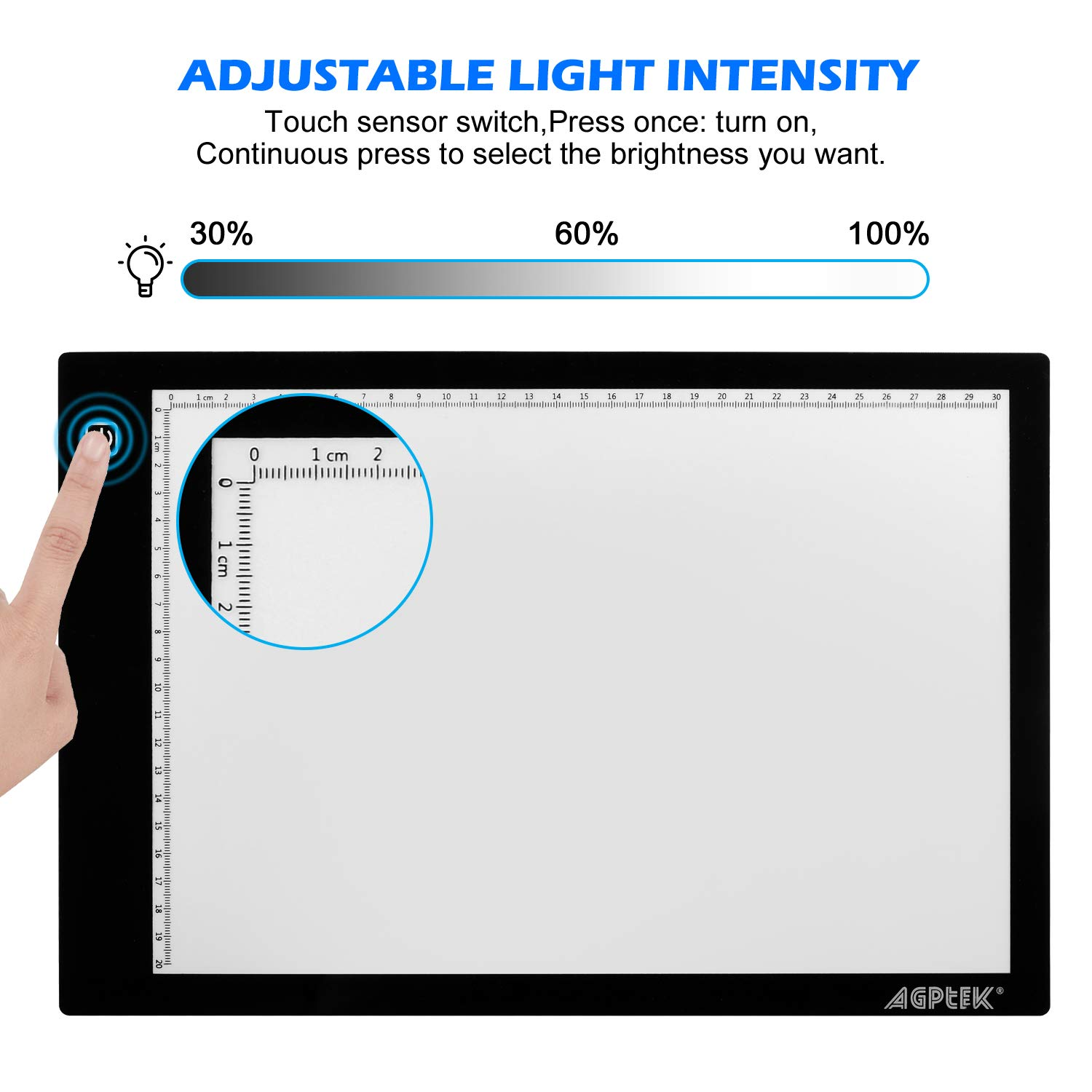 Drawing A4 Ultra-Thin Portable LED Light Board USB Powered for