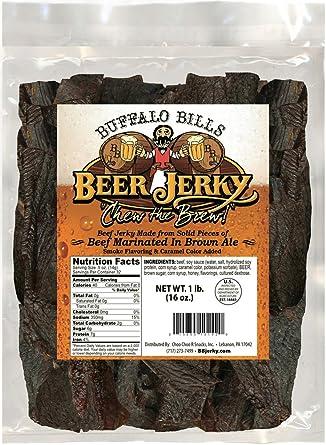 Buffalo Bills Premium cerveza Jerky (Cecina de buey marinado ...