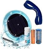 Original Solar Pool Ionizer | 85% Less Chlorine | Lifetime Replacement Warranty | Kill Algae in Pool | High efficiency…