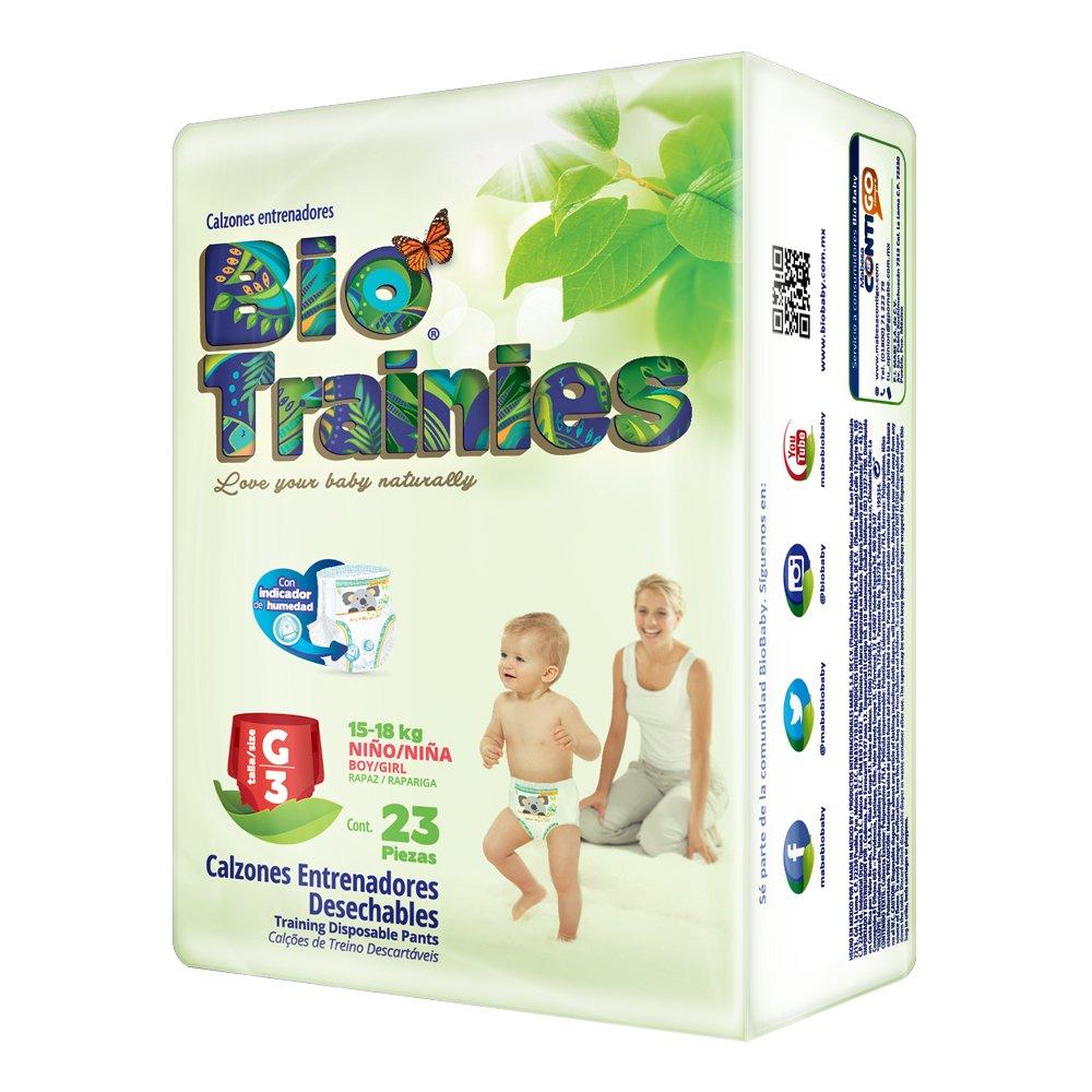 Calzoncillo de entrenamiento biodegradable Talla Grande- Bolsa de 23 piezas: Amazon.es: Salud y cuidado personal