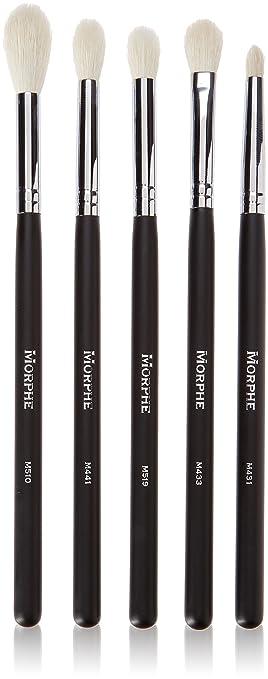 makeup blending brush. morphe flawless blending makeup 5-brush set (set 105) brush