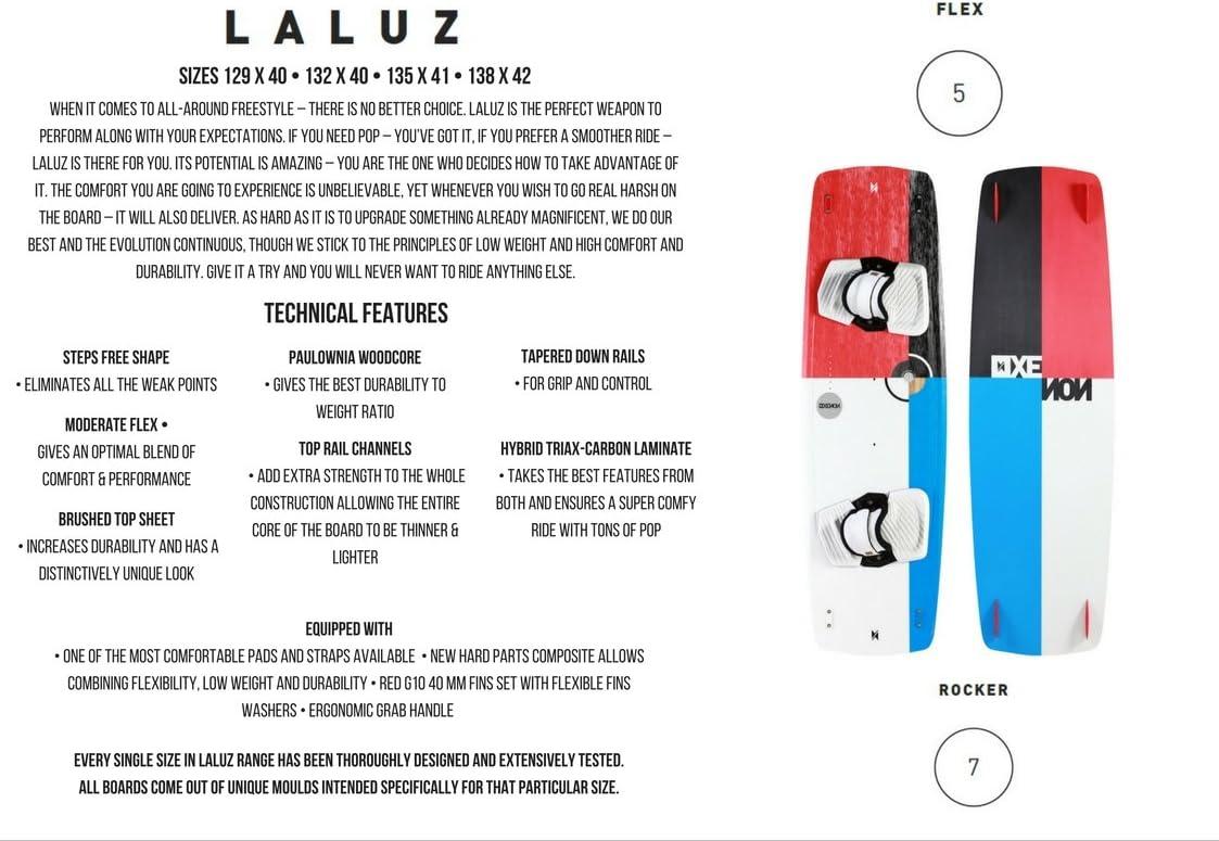 Xenonboards Laluz 2015 Kite Board Tabla de Kitesurf ...