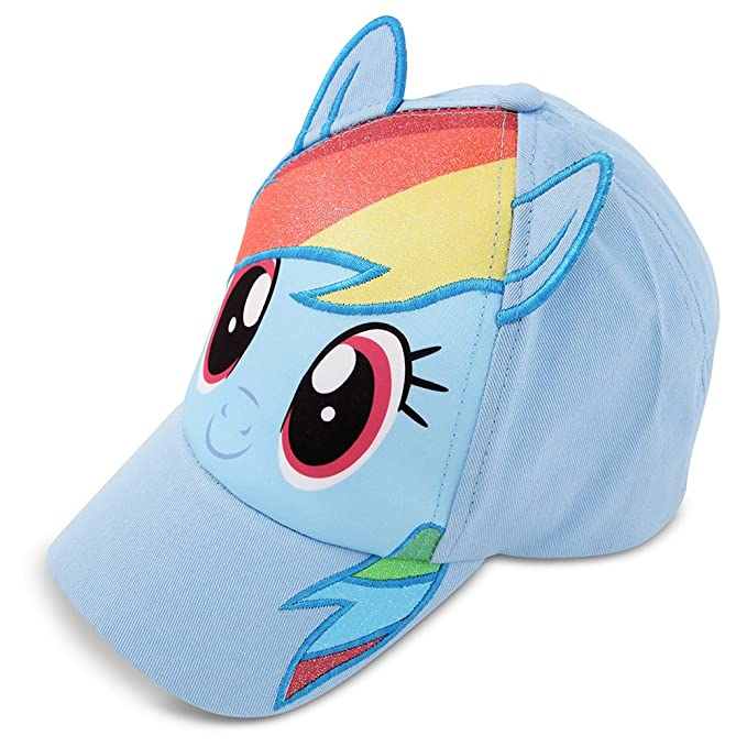 9bd55e0c9c9 Amazon.com  Hasbro Little Girls My Little Pony Cotton Baseball Cap ...
