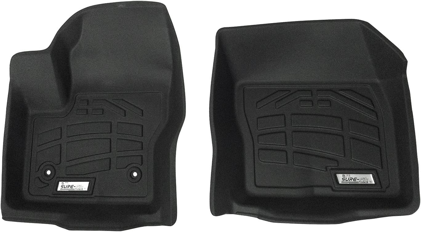 Grey Nylon Fiber GG Bailey D3666A-LSD-GY 3 Row Set Custom Mats for Select Cadillac Escalade ESV Models