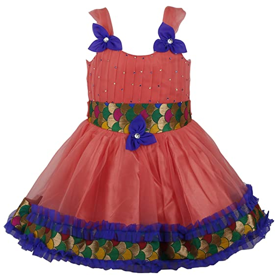 7b48cd357 Wish Karo Baby Girls Party Wear Frock Dress Dn 586_18-24 Mnth ...