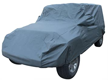 Leader Accessories Jeep Wrangler Unlimited 4 Door Custom Car Cover 5 Layer Waterproof
