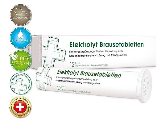 MEDICOM Elektrolyt Brausetabletten mit Natrium & Kalium • Vegan ...