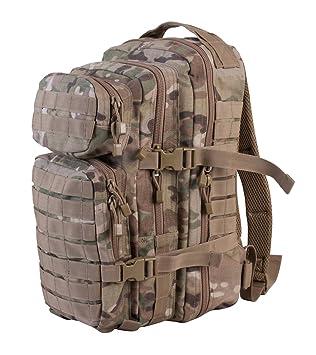 38b54c753093b Mochila Militar Táctica de Combate - Camuflaje Multicam - Capacidad 28  Litros  Amazon.es  Deportes y aire libre