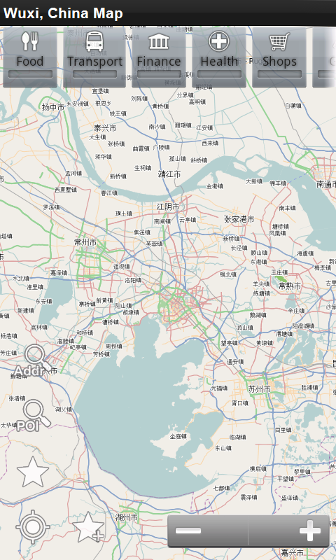 Amazon Com Wuxi China Offline Map Place Stars Appstore For Android