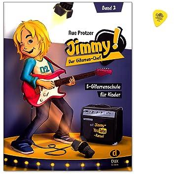 Jimmy. La bande 2 – GUITARE électrique école pour enfants de 6 ans de Rue