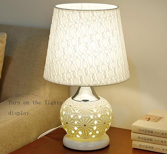 GLJF Lampe de Chevet Lampe de Chevet Manuelle télécommande