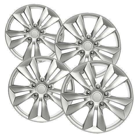 16 inch Hubcaps Best for 2011-2014 Hyundai Sonata - (Set of 4)