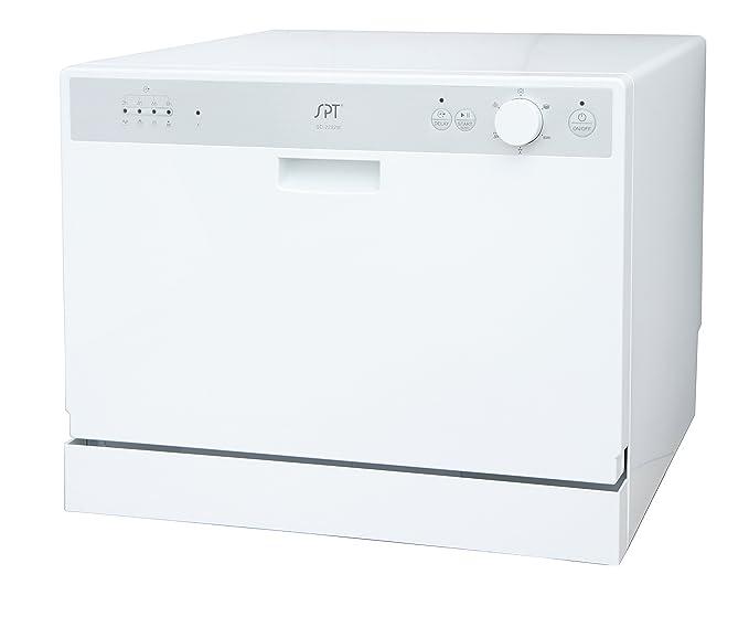 Amazon.com: SPT Countertop lavaplatos con Inicio Diferido ...