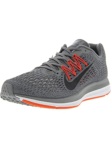 a7a844c34c2b21 Nike Men s Zoom Winflo 5 Gunsmoke Oil Grey - Thunder Ankle-High Mesh Running