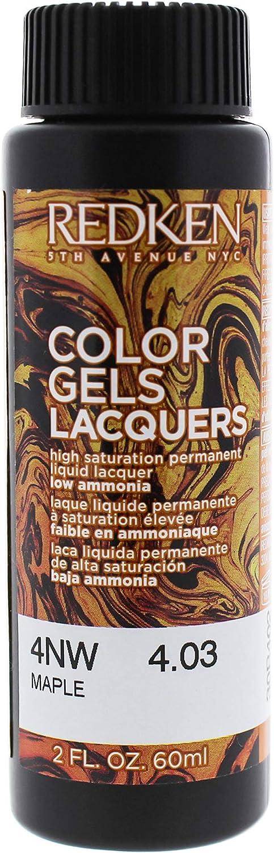 Redken Color Gels Lacquers Haircolor 4nw – Maple por Redken ...