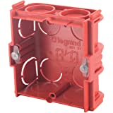 Legrand LEG90530 Boîte d'encastrement carrée associable Batibox Maçonnerie - profondeur 30mm