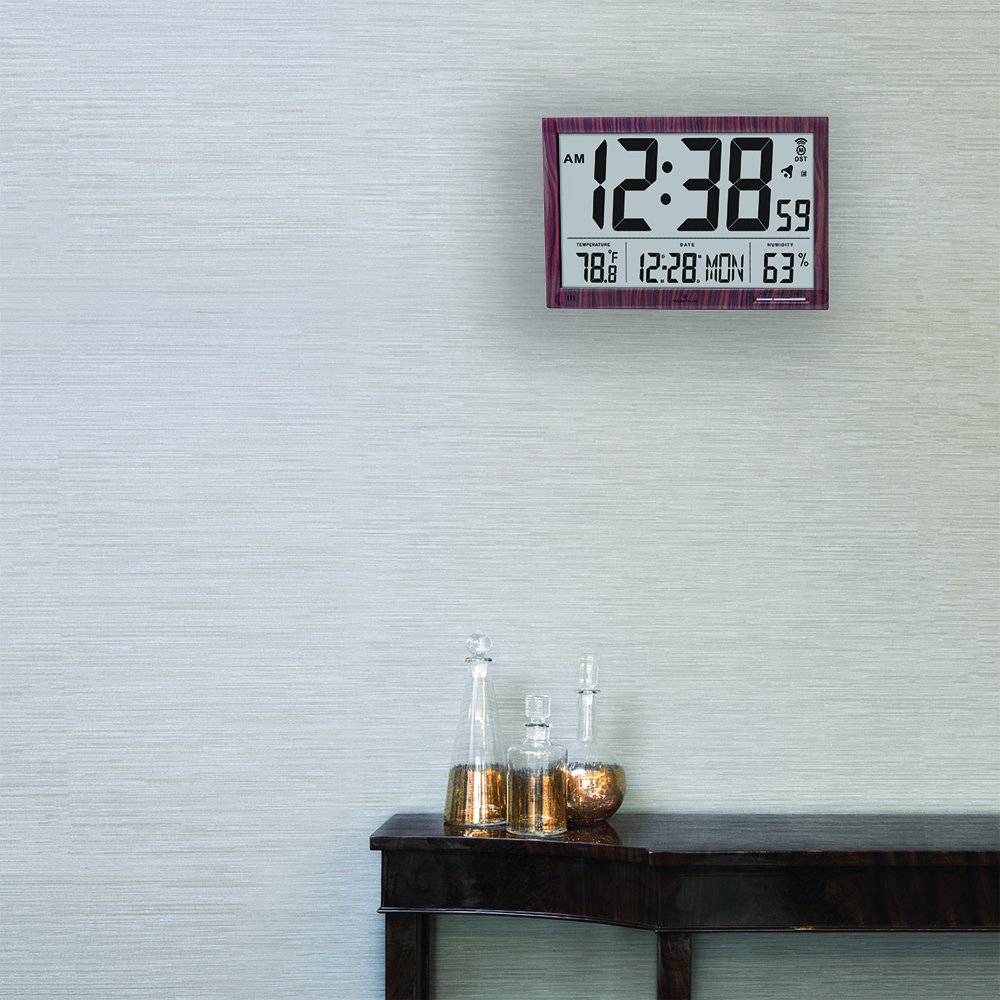 Amazon marathon cl030062wd slim jumbo atomic digital wall amazon marathon cl030062wd slim jumbo atomic digital wall clock home kitchen amipublicfo Choice Image