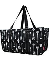 "N. Gil All Purpose Open Top 23"" Classic Extra Large Utility Tote Bag 2"