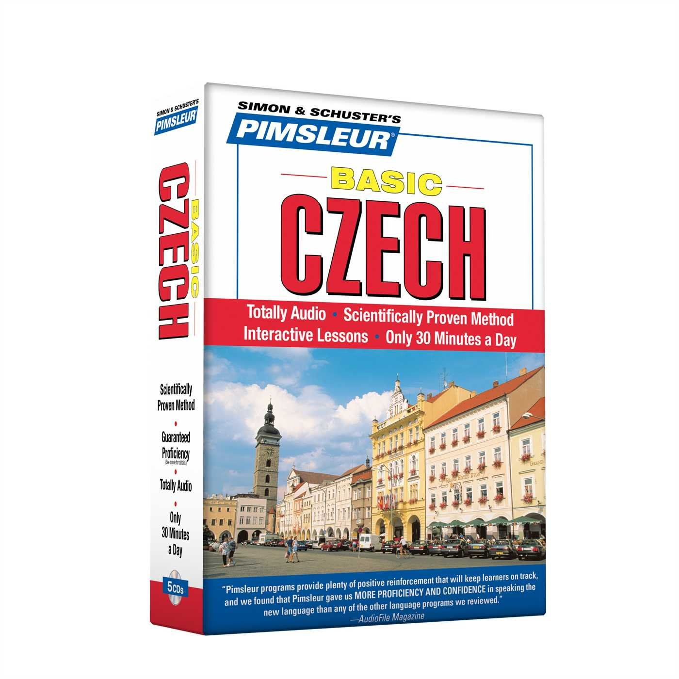 Pimsleur Czech Basic Course - Level 1 Lessons 1-10 CD: Learn to Speak and Understand Czech with Pimsleur Language Programs by Pimsleur