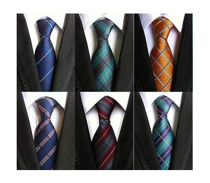 Amazon.com: besmodz rayas traje de corbata Paisley de hombre ...