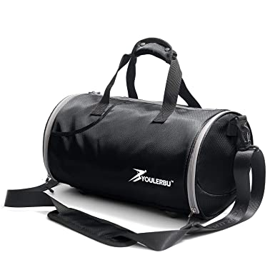 Youlerbu Sports Gym Bag With Shoes Compartment 0c0e40721de47