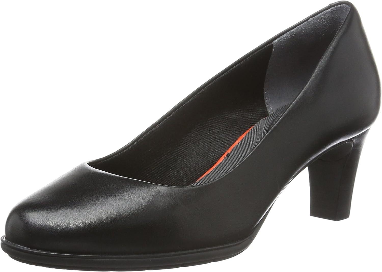 plain black court shoes
