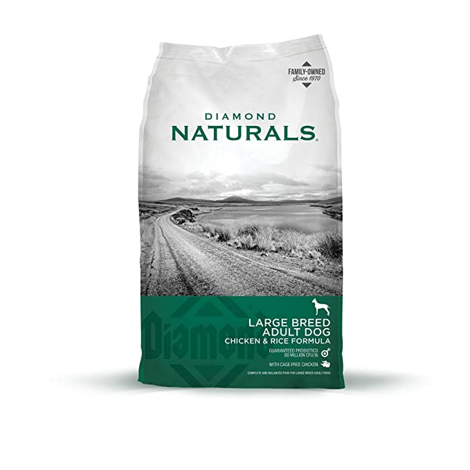 Diamond Naturals Adult Large Breed Premium Dry Dog Food - Premium Dog Food for Adult and Large Breed Dogs