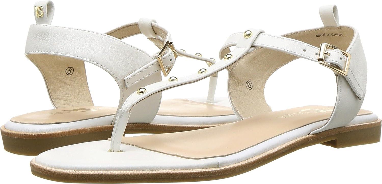 Yosi Samra Womens Calliste Nappa B077YPG7XW 5 B(M) US|White/Gold Studs Nappa Calliste Leather 72dbda